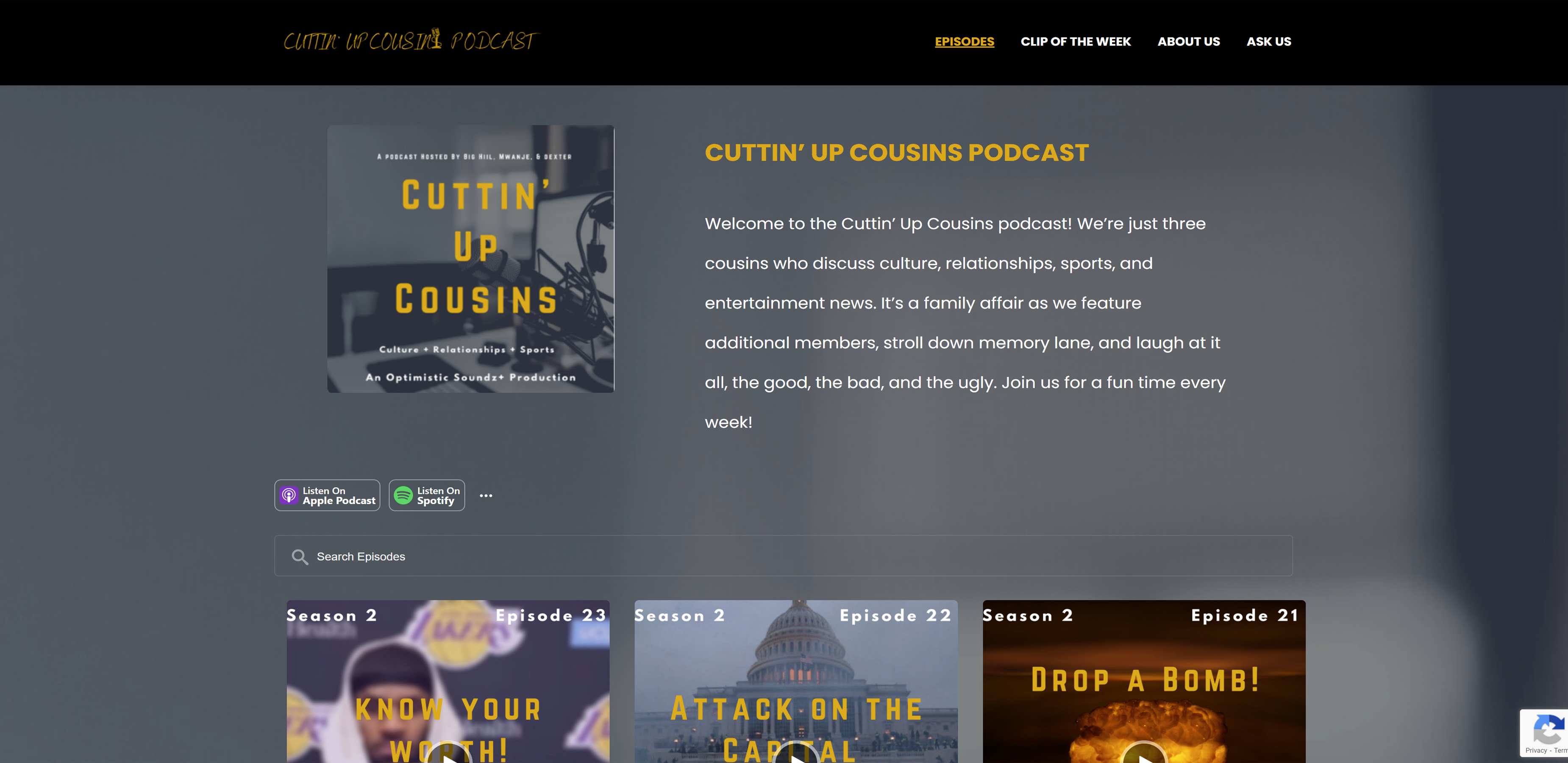 Cuttin' Up Cousins Podcast