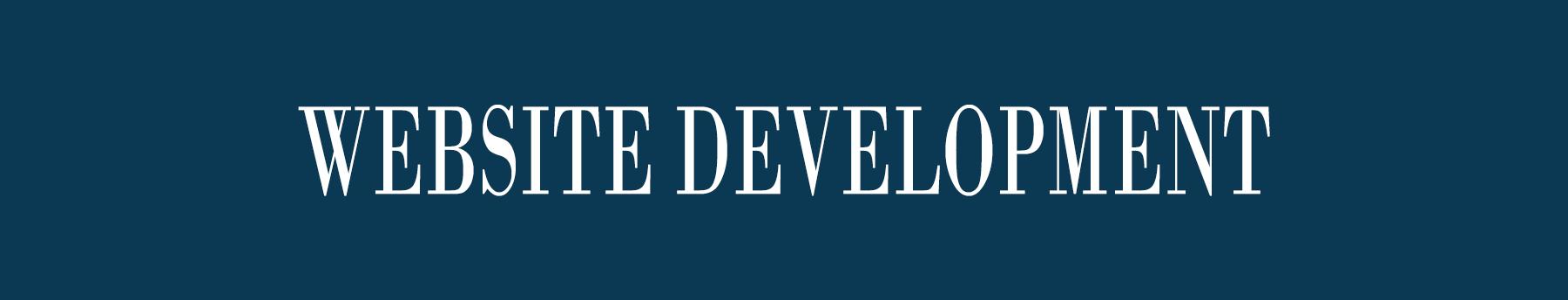 Website Development Title